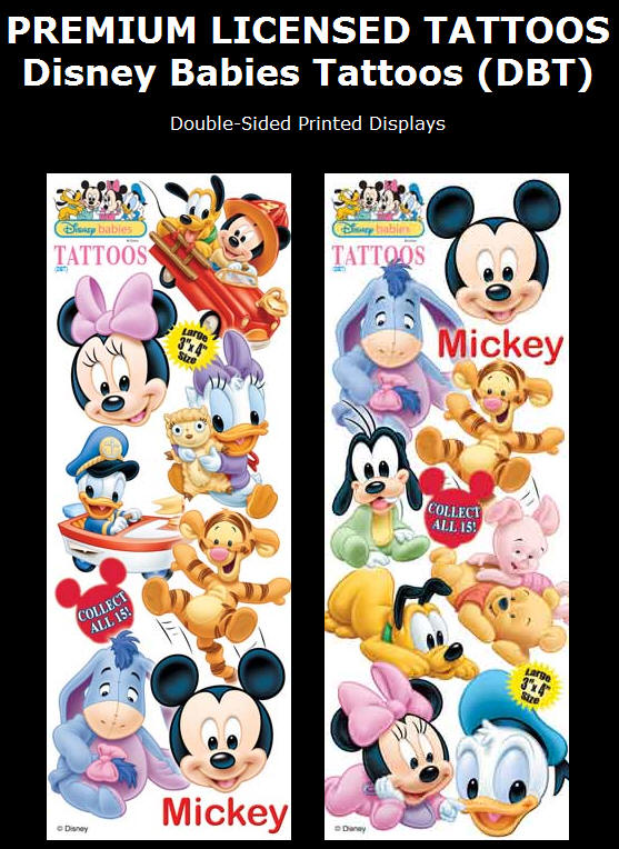 Disney Babies Tattoos (DBT). Display